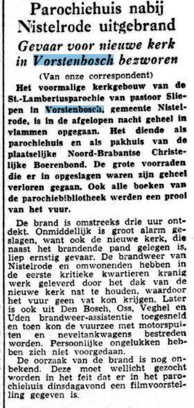 Artikel uit de Tijd  4 januari 1956